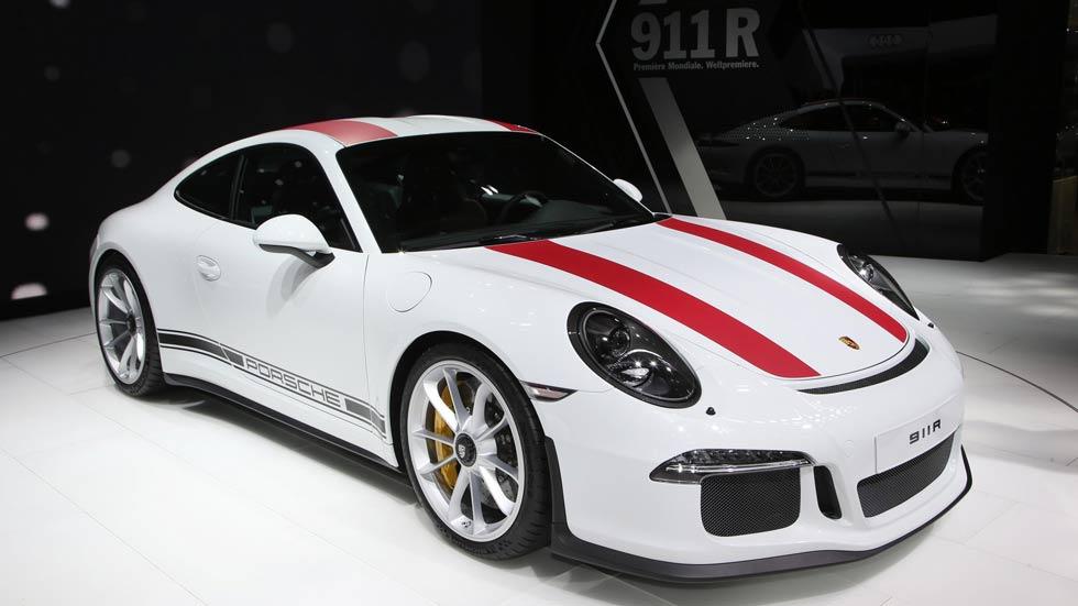 Porsche 911 R, 991 unidades de  placer