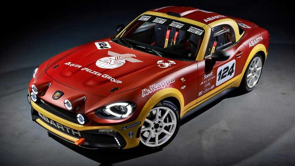 Fiat 124 Rallye Abarth: vuelve el mito en Ginebra