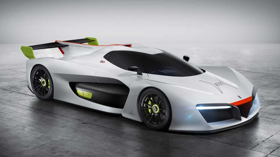 Pininfarina H2 Speed Concept, el coche de carreras de hidrógeno