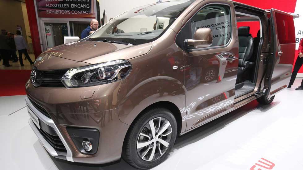 Toyota Proace Verso: un monovolumen para ocho ocupantes