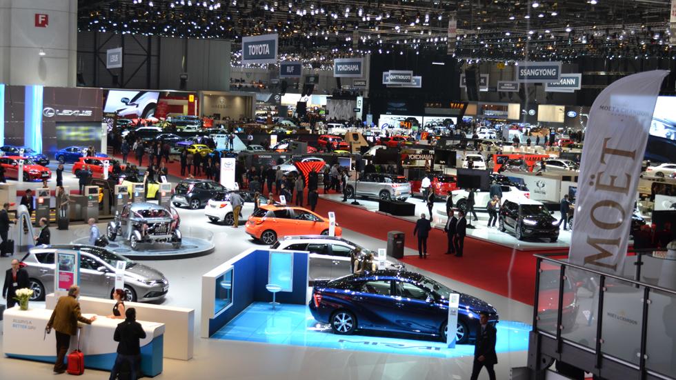 Así es el Salón de Ginebra para un periodista de motor (vídeo)