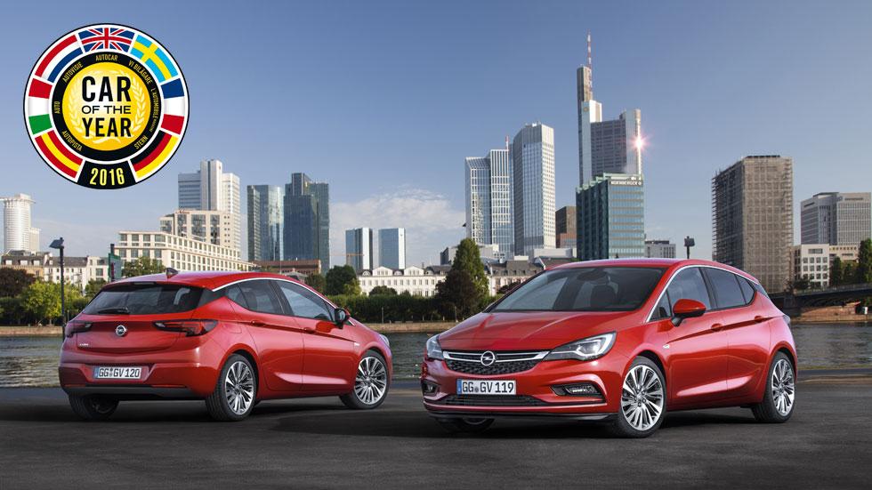 Opel Astra: los atributos del Coche del Año 2016 en Europa