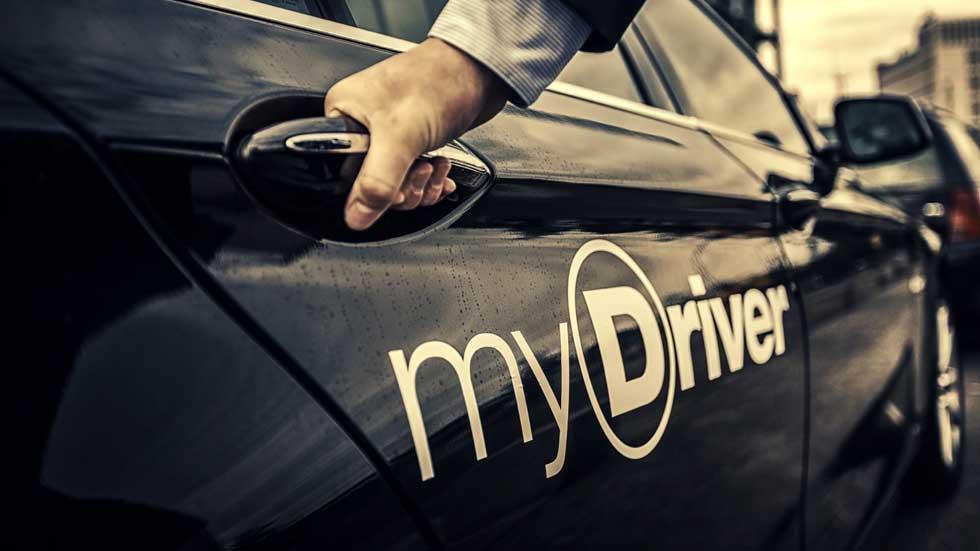 El servicio de coches de lujo con chófer MyDriver llega a España