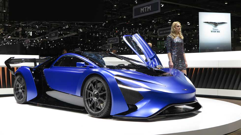 Techrules AT96 y GT96: dos súper coches eléctricos con turbina