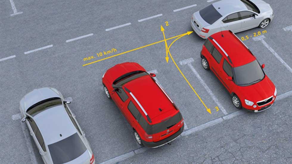 La DGT regula el aparcamiento asistido de los coches