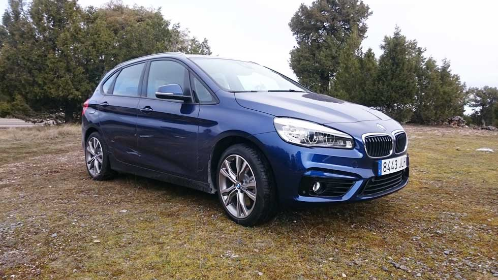 BMW 225xe Active Tourer: su consumo real… no tan verde