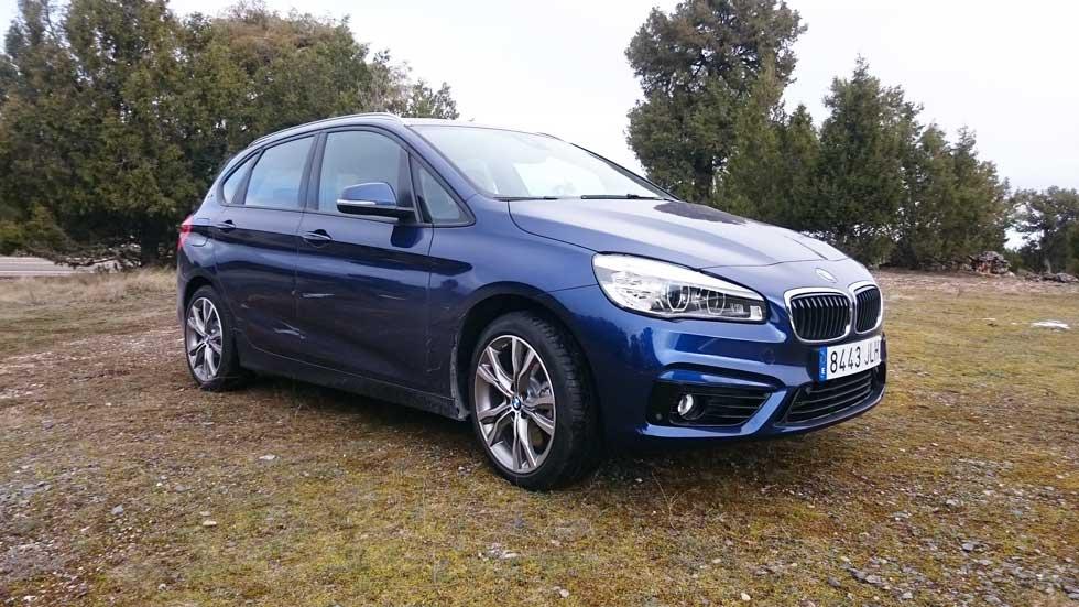 BMW 225xe Active Tourer: su consumo real… no tan verde