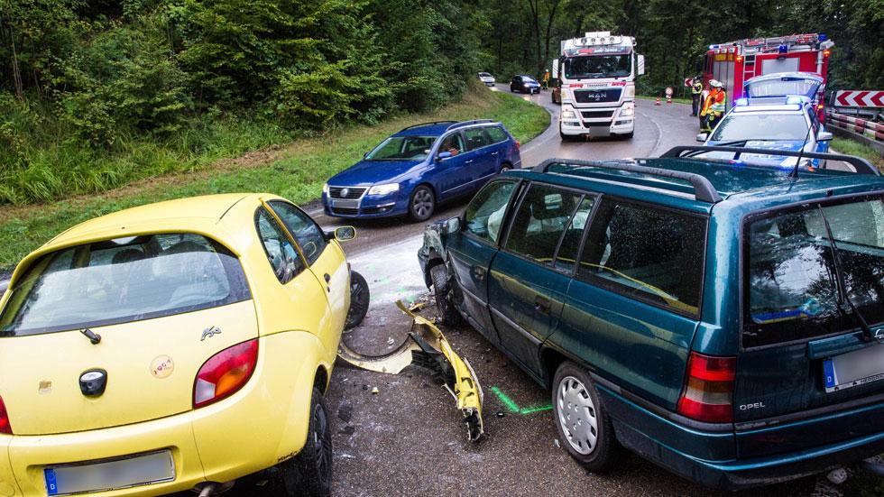 Los fallecidos en carretera en 2016 suben respecto a 2015