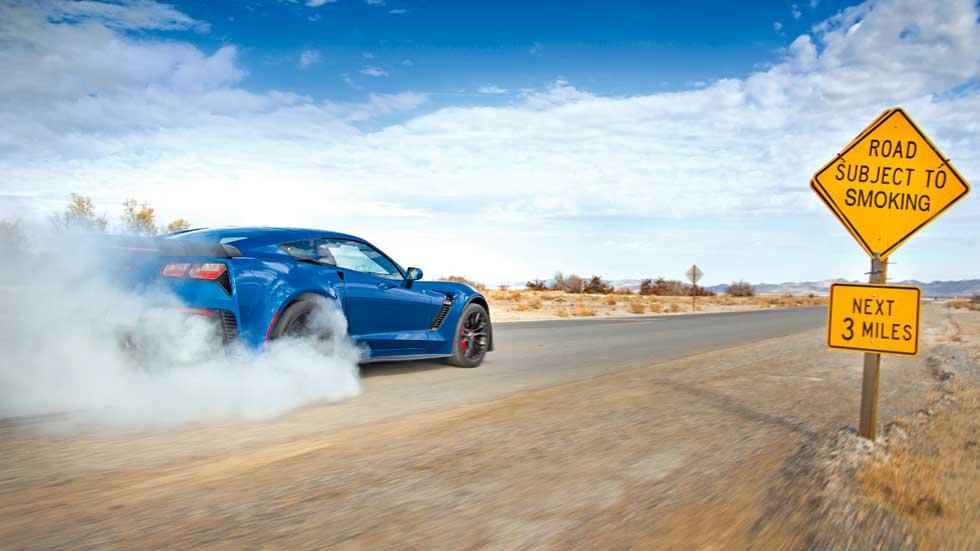 Chevrolet Corvette Z06: de viaje y de pruebas por California y Nevada