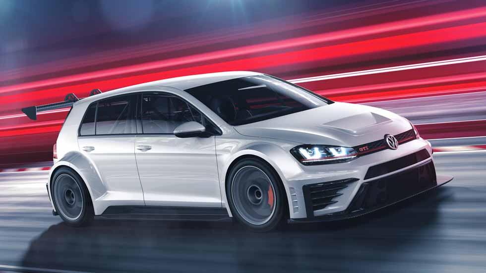 Volkswagen Golf GTI TCR, el Volkswagen Golf de carreras