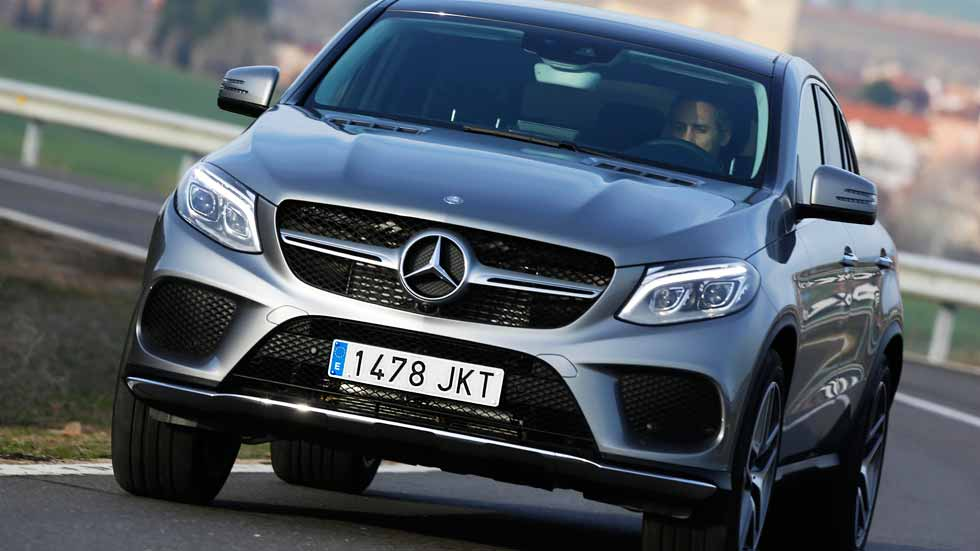 Mercedes GLE Coupe 350d 4Matic, SUV Diesel deportivo