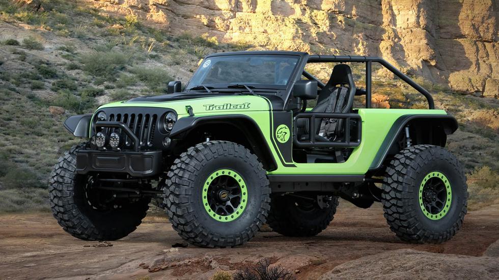Los 7 prototipos de Jeep en el Easter Jeep Safari