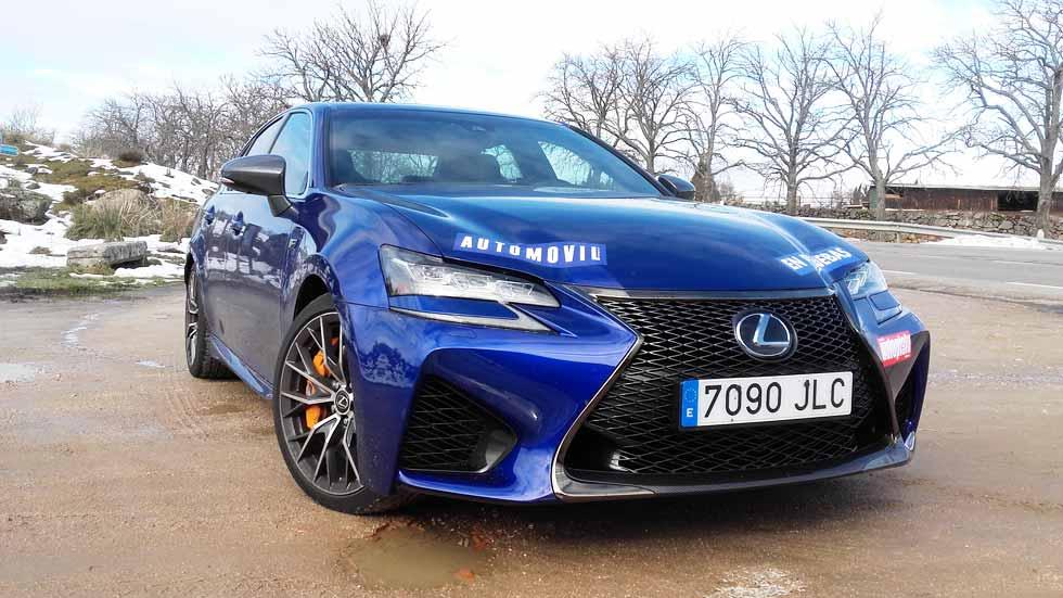 Lexus GS F, ¿cuánto gasta realmente hoy un V8?