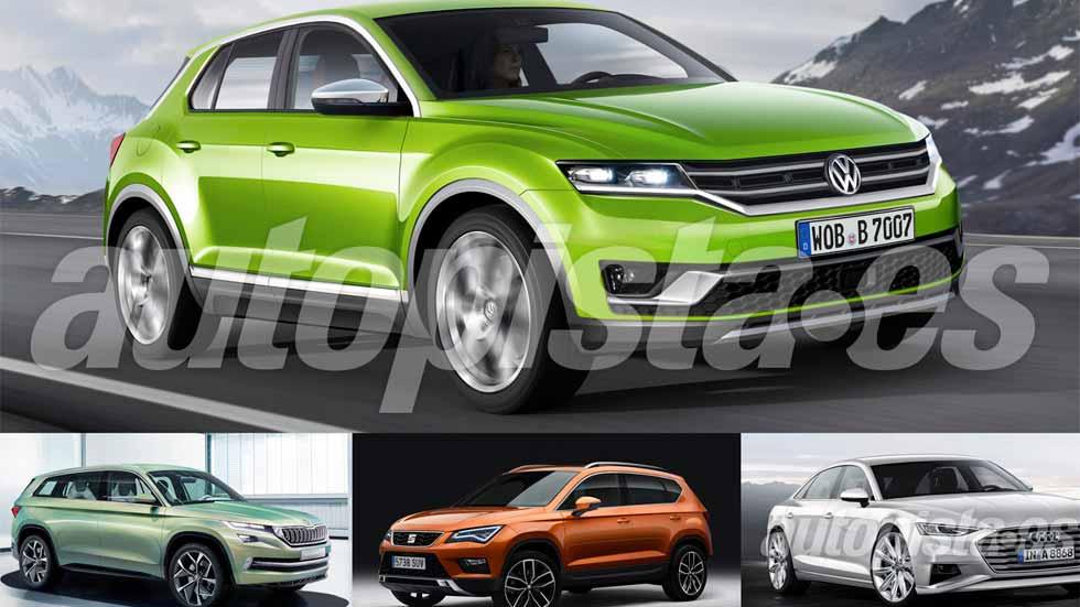 Escándalo Volkswagen: 67 coches para salir de la crisis