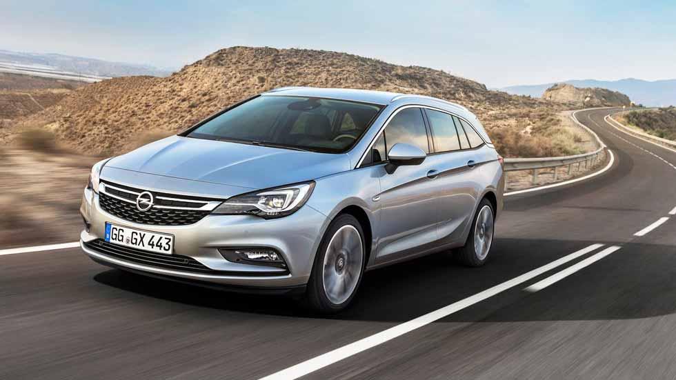 A prueba: Opel Astra Sports Tourer 1.6 BiTurbo CDTi