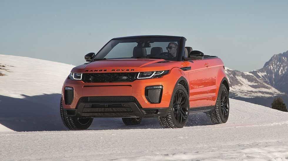 Range Rover Evoque Convertible, ¡probamos el SUV descapotable!