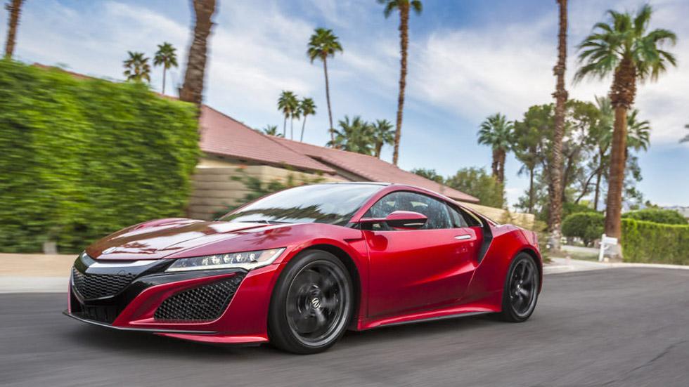 Honda NSX: a prueba el gran coche deportivo japonés