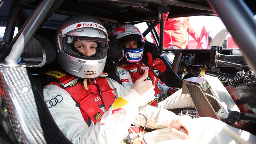 Copilotamos y entrevistamos a Miguel Molina en un Audi RS5 DTM (vídeo)
