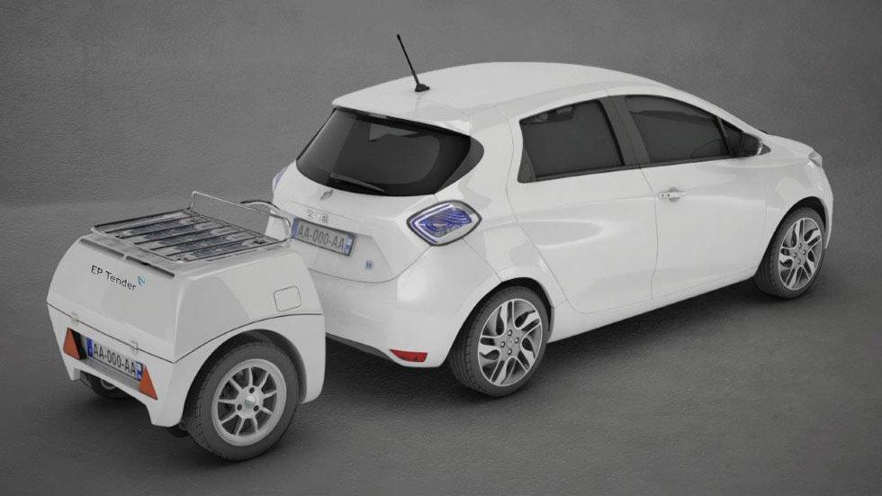 EP Tender: más kilómetros para tu coche eléctrico sin enchufar