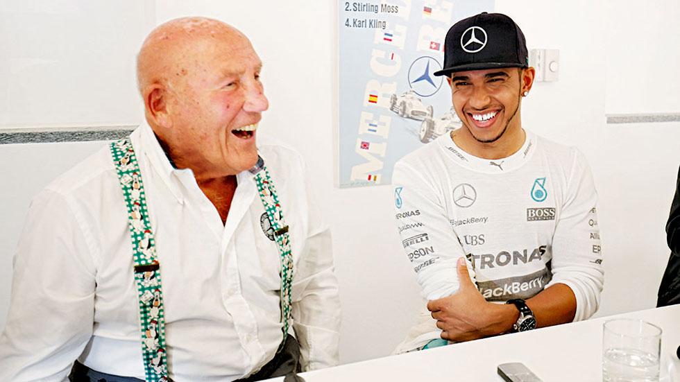 """Fórmula 1: Hamilton a Stirling Moss: """"¿Teníais miedo en tu época?"""""""