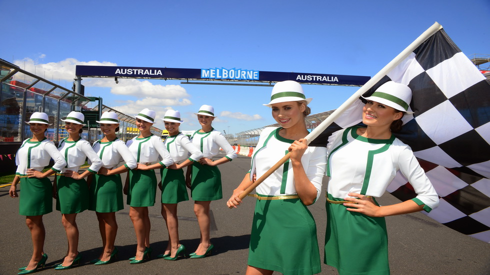 "GP de Australia de F1: ""Ya estamos en Melbourne"""