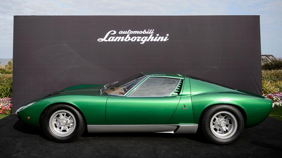 Lamborghini Miura SV 1971 por PoloStorico, ¡che bello!