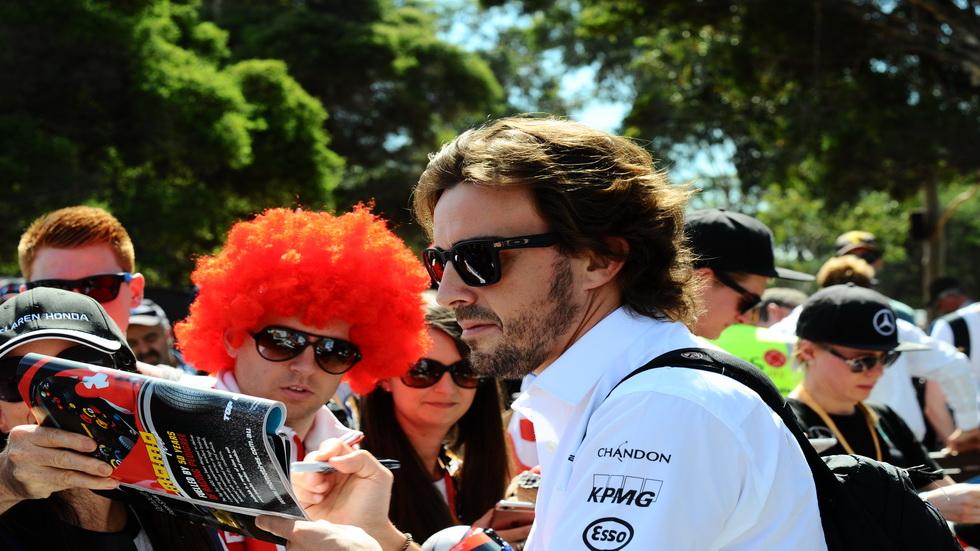 GP de Australia de F1: Fernando Alonso, listo para la primera carrera