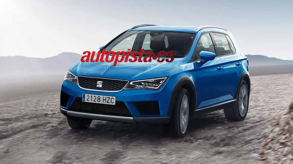 seat ateca mini del futuro seat ibiza derivar otro suv. Black Bedroom Furniture Sets. Home Design Ideas