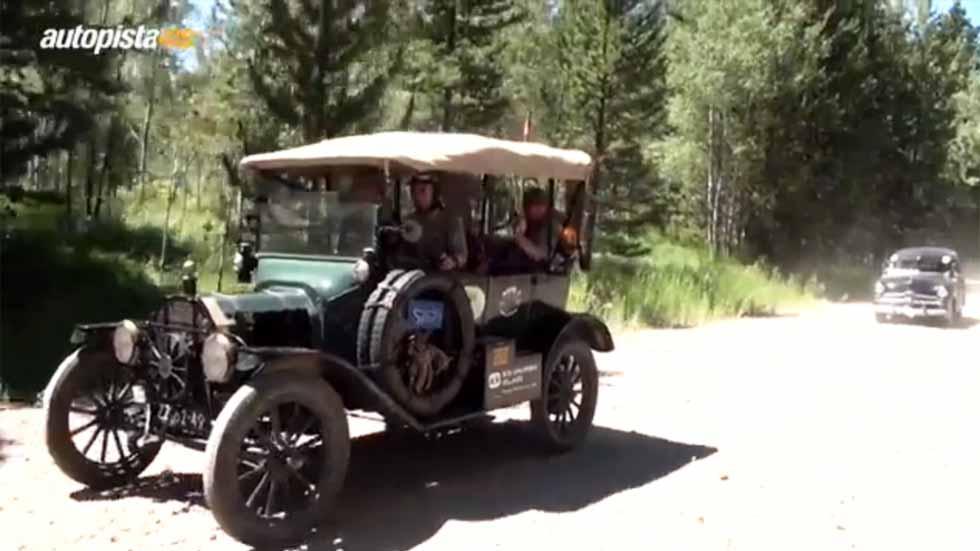 Recorriendo el mundo en un Ford T de más de 100 años (vídeo)