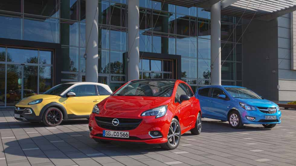 Los Opel Astra, Corsa, Adam y Karl, con el cambio automático Easytronic 3.0