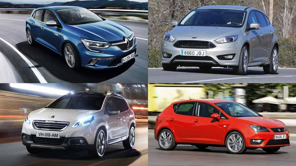 Los 10 mejores coches por menos de 30.000 euros