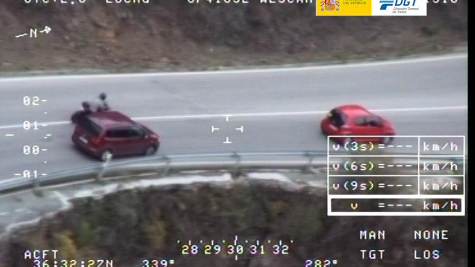 Pegasus multa a uno de cada cuatro coches vigilados