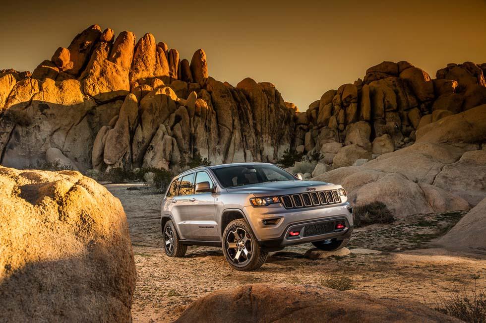 Jeep Grand Cherokee Trailhawk: auténtico todo-terreno 4x4