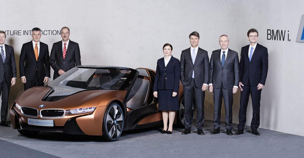 Confirmados un BMW i8 Roadster y el revolucionario i5