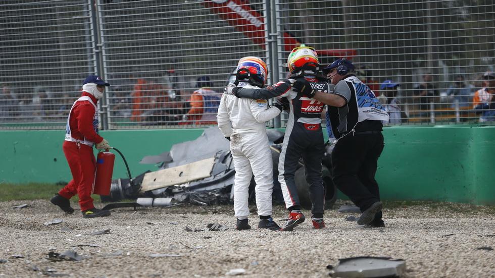 """Accidente de Alonso en F1 a 310 km/h: """"Tengo que dar gracias"""""""
