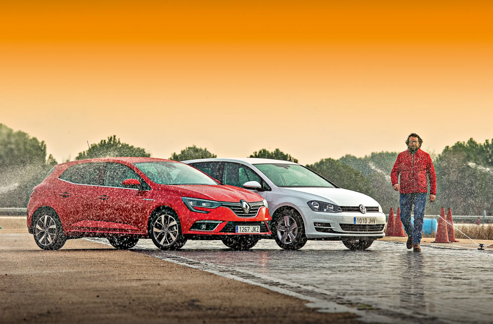 Renault Mégane 1.5 dCi vs VW Golf 1.6 TDi, ¿cuál es mejor?