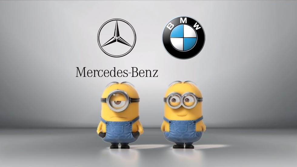 Mercedes y BMW: la guerra sigue en las redes sociales (vídeo)