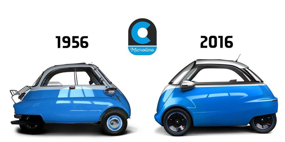 Microlino: el Isetta eléctrico del siglo XXI