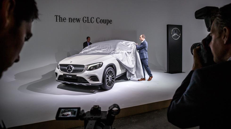 Mercedes GLC Coupe: desvelado el SUV deportivo compacto
