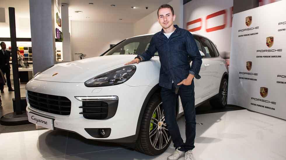 Porsche entrega a Jorge Lorenzo un Cayenne S E-Hybrid