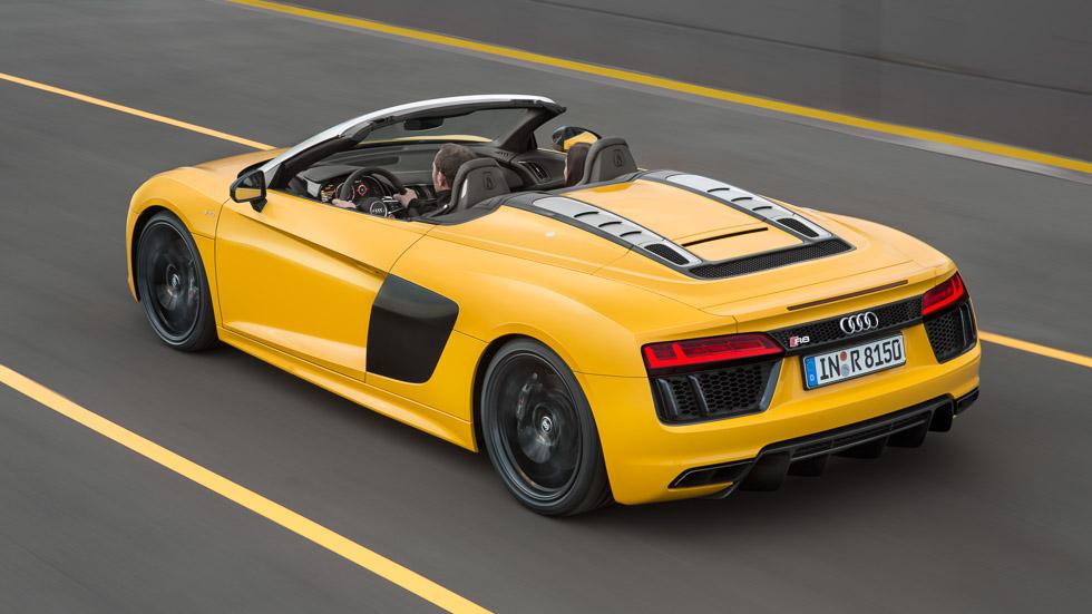 Audi R8 Spyder V10: presentado en el Salón de Nueva York