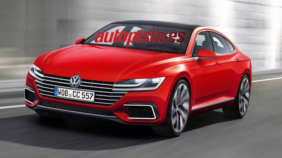 nuevo volkswagen cc lujo y tecnolog a para 2018. Black Bedroom Furniture Sets. Home Design Ideas