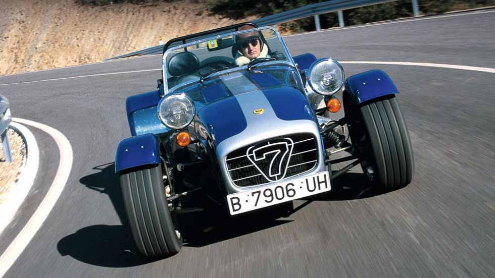 Caterham Super Seven El Mejor Juguete Para Conducir Pruebas De