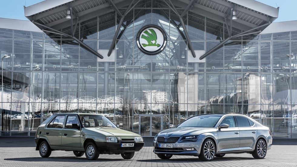 Skoda cumple 25 años en el Grupo Volkswagen