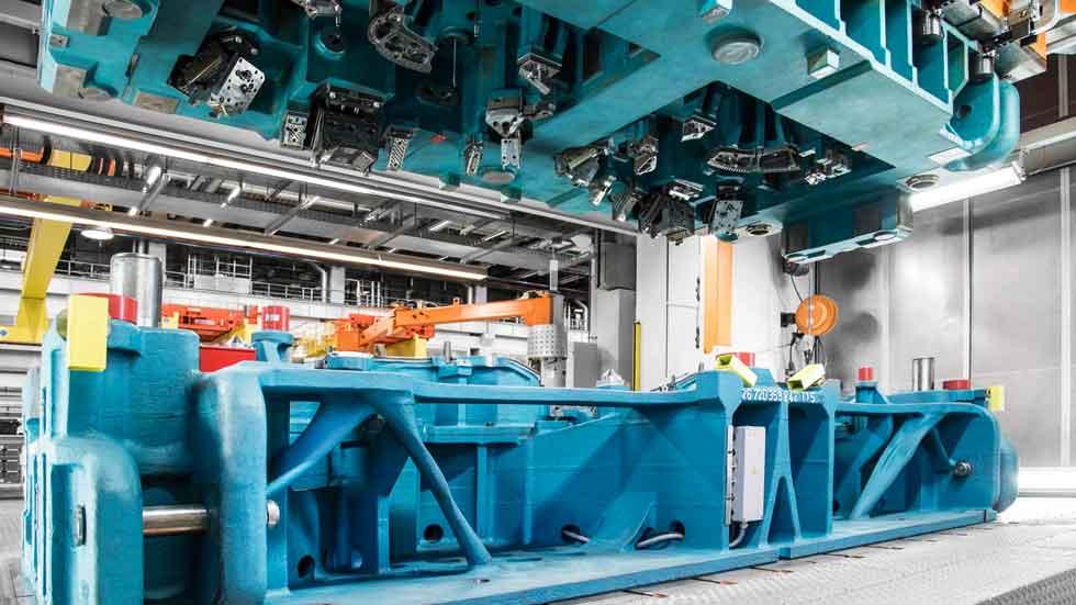Audi y sus nuevas herramientas de fabricación más ligeras y eficientes