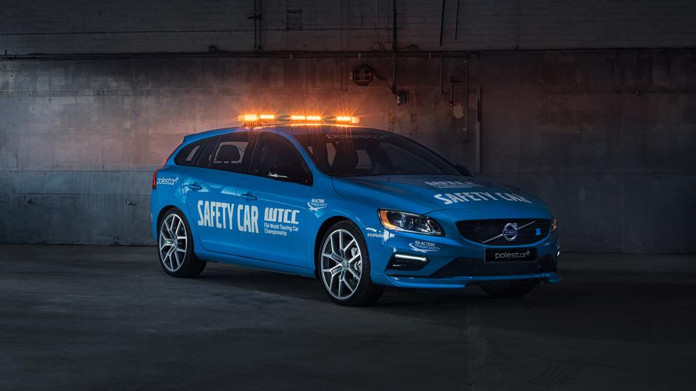 Volvo V60 Polestar, el safety car del Mundial de Turismos 2016