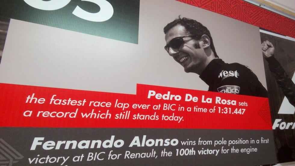 GP de Baréin: sigue en vigor el récord de Pedro de la Rosa