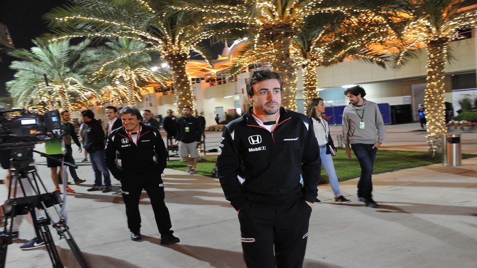 GP Baréin- Alonso no descarta correr este fin de semana