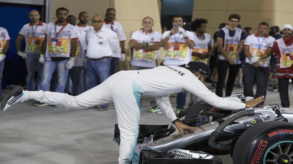 GP Baréin- Lewis Hamilton, a punto de ser sancionado