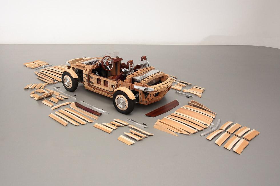 Así es el Toyota Setsuna, el coche de madera (fotos)